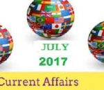 Current Affairs From The Hindu Month July 2017
