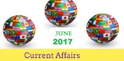 Current Affairs From The Hindu Month June 2017